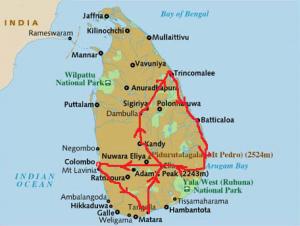 Mi recorrido por Sri Lanka